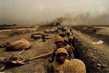 بمباران عقبه نیروهای انقلابی توسط دشمن