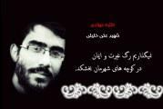 طلبه جهادی شهید علی خلیلی