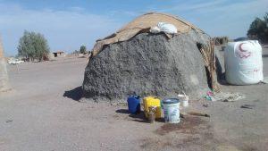 منطقه چاه شورک عاشقان حسینی - خانه های کپری